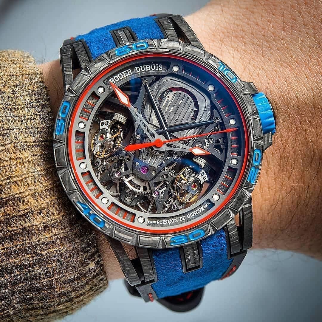 Most Expensive Watches Roger Dubuis Created In Collaboration
