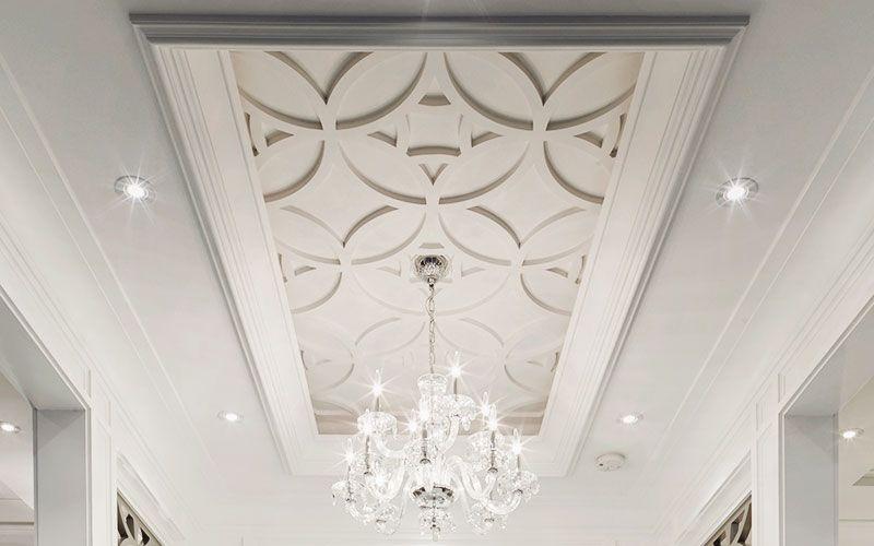 Abanico | Coffered ceiling design, Gypsum ceiling design