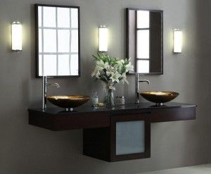 Wall Mounted Double Bathroom Vanities For The Highest Level Of Customization Double Vanity Bathroom Modern Style Bathroom Bathroom Vanity
