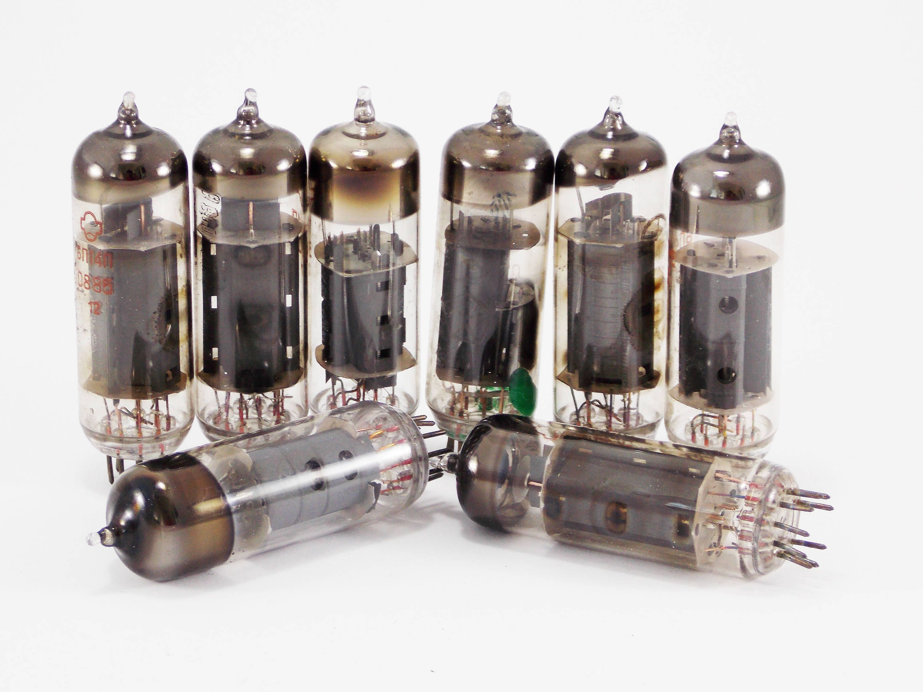 Audio Tube Glass Electronic Parts Steampunk Supplies Vacuum Tubes