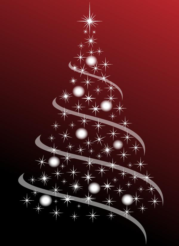 Free Christmas Tree Abstract Vector Image Christmas svg