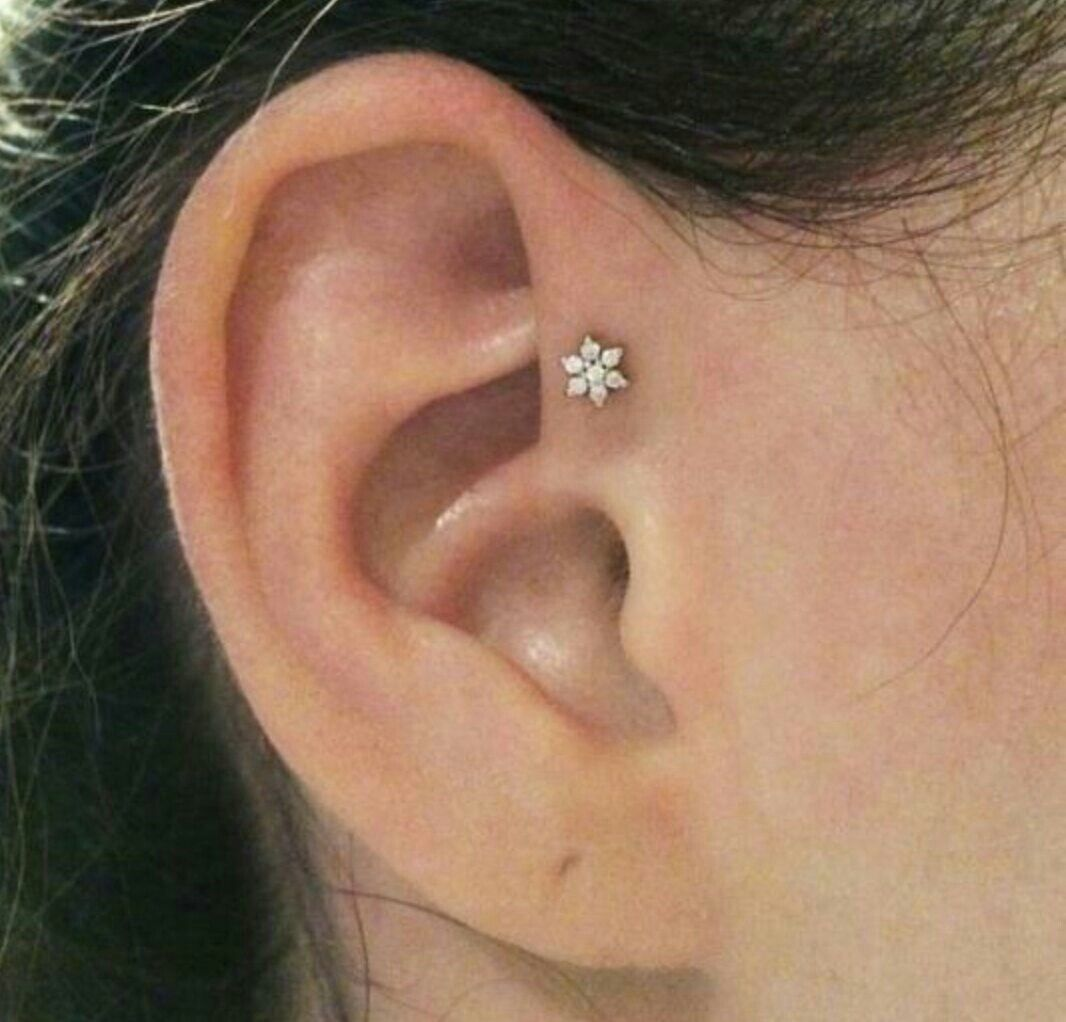 Nose piercing hole closed up  The flower is so adorable Simplistic  piercings  Pinterest