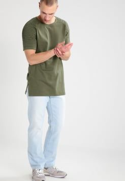 Urban Classics - T-Shirt print - olive