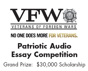 The 2013 2014 Voice Of Democracy Competition For Student 9 12 Essay Scholarship Winning Example