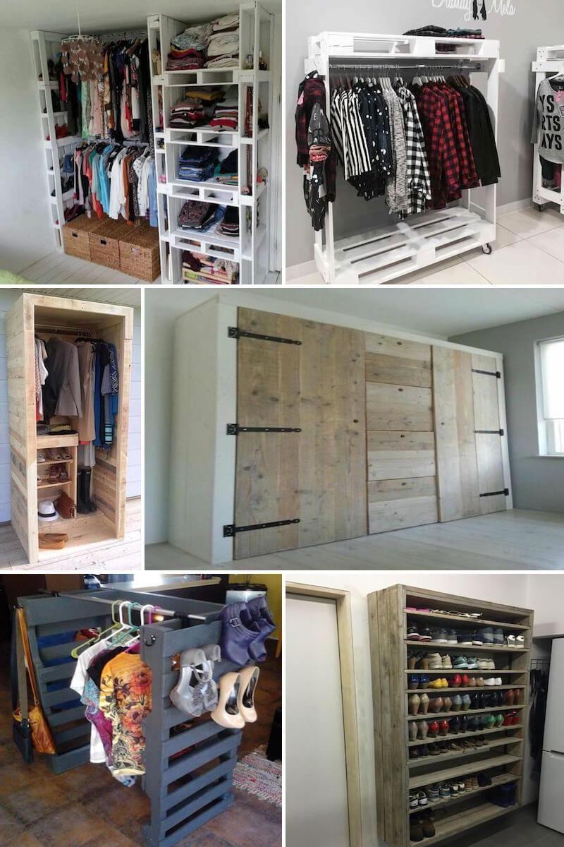 Ideas de armarios hechos con palets hojas pinterest - Ideas para armarios ...