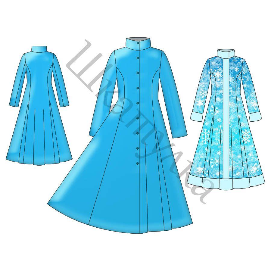 Muster Mantel Maiden - kostenlos in 3 Größen | Sewing for Woman ...