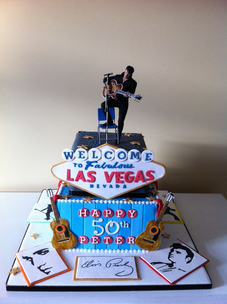 Elvis Presley Cake With Images Elvis Presley Cake Elvis Cakes