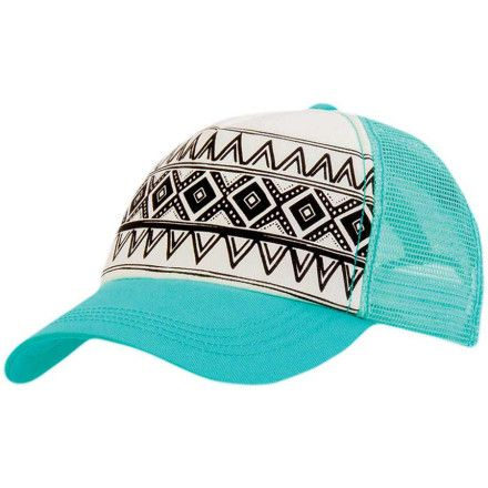 Billabong I Heard Trucker Hat by  Elena Rudaya Western Hats 83c0af0fe521