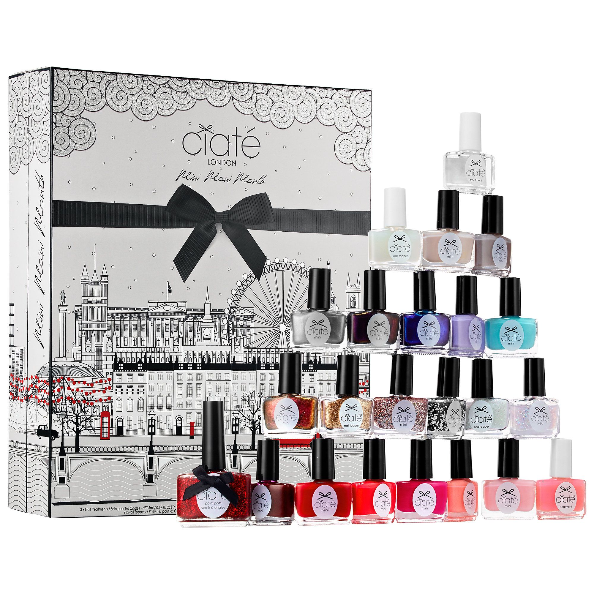 Mini Mani Month - Ciaté London | nail polish advent calendar ...