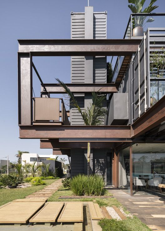 Gallery Of Laif House Bauen 22 In 2020 Architecture Architecture Design Modern Architecture