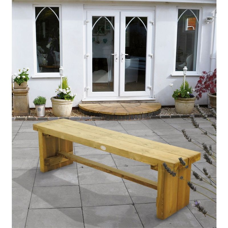 Find Forest Double Sleeper Bench - 1.5m at Homebase. Visit your ...