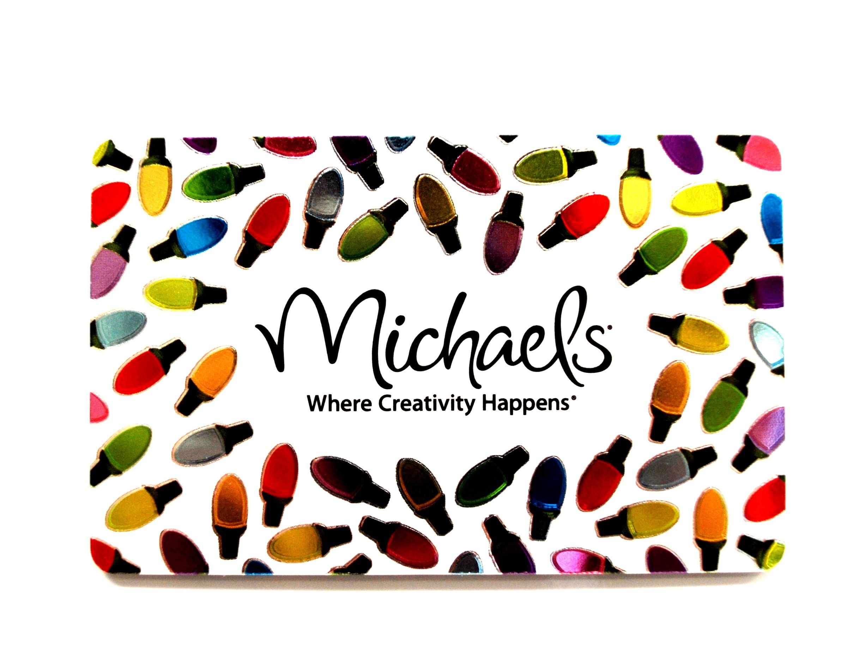Michaels Gift Card | Samantha's Wishlist | Pinterest | Gift cards ...