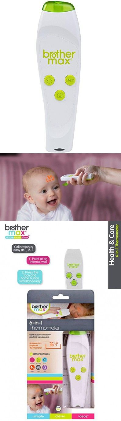 brother max 6-in-1 projection thermometer