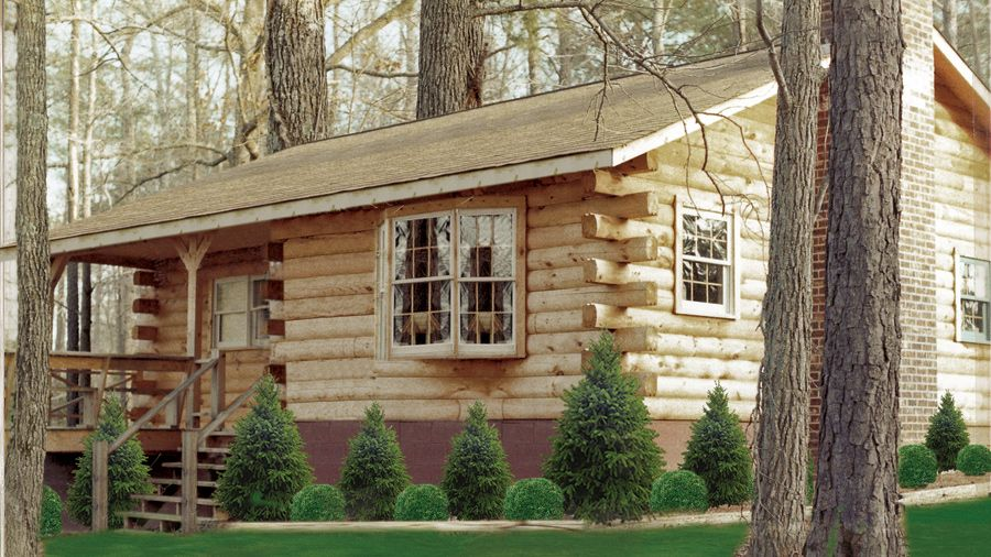 A fantastic, versatile, compact log home floor plan, The Sunset ...