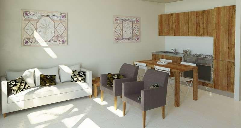 e soggiorno open space - Salotto e cucina