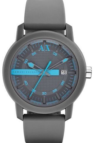 7ab9d01507f6 Colorflash Blue Watch - Accessories Shop - Mens - Armani Exchange ...