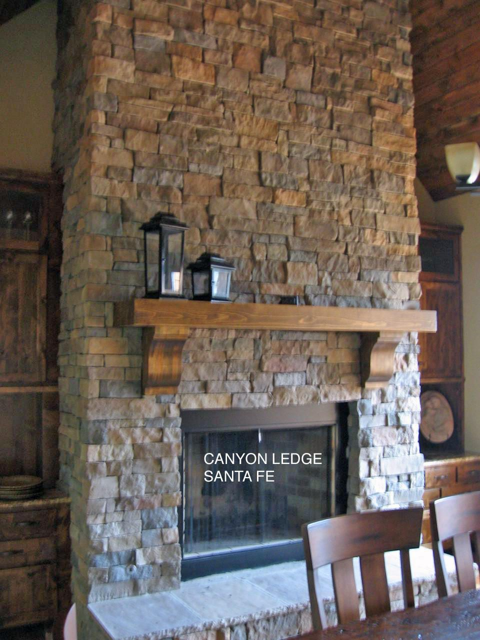 Stone Fireplaces | Photo Gallery | Canyon Stone | future home ...