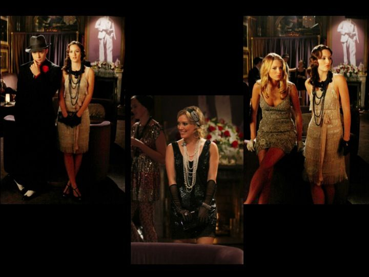 A 1920's theme party in an episode of Gossip Girl. The ...