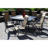 Found it at Wayfair - McCallister 9 Piece Dining Set