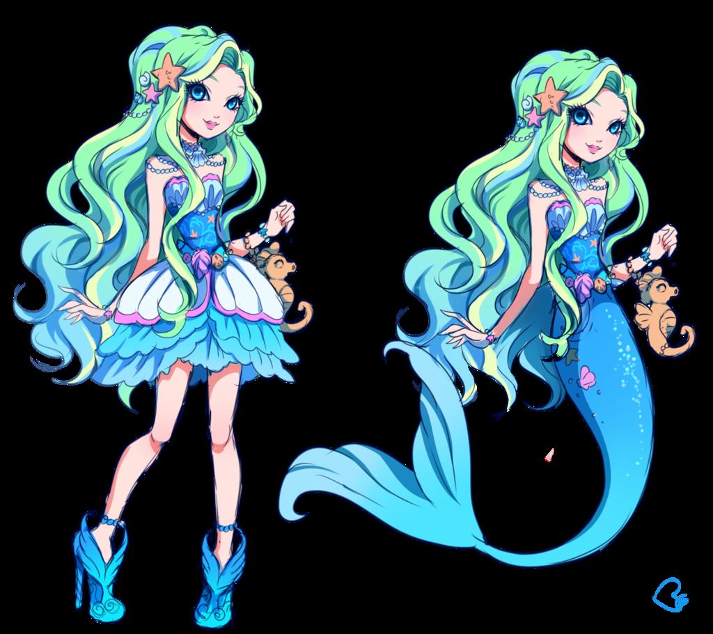 OC Mermaid By KagomesArrow77.deviantart