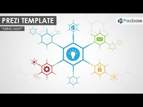 Mind Map Prezi Template  Prezibase  Misc
