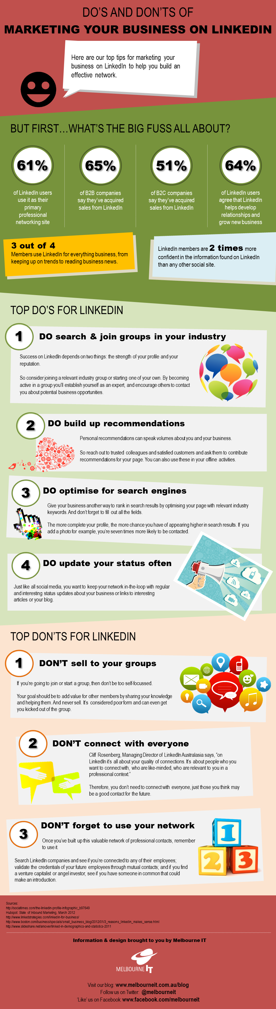 Do's and Don'ts of #Marketing Your Business on #LinkedIn