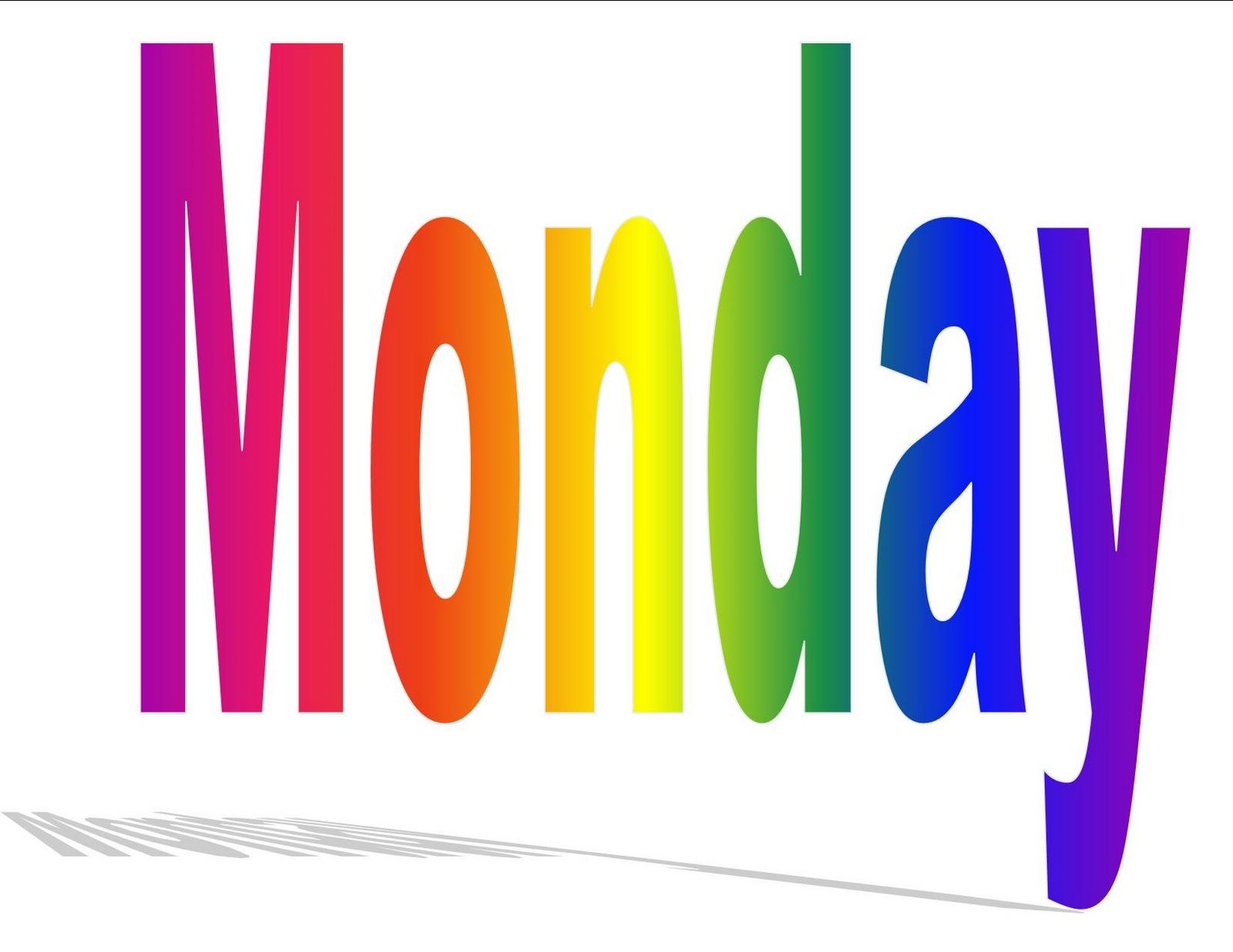 it s monday clip art days of the week sung to the tune if youre rh pinterest ca happy monday clipart images happy monday clip art free