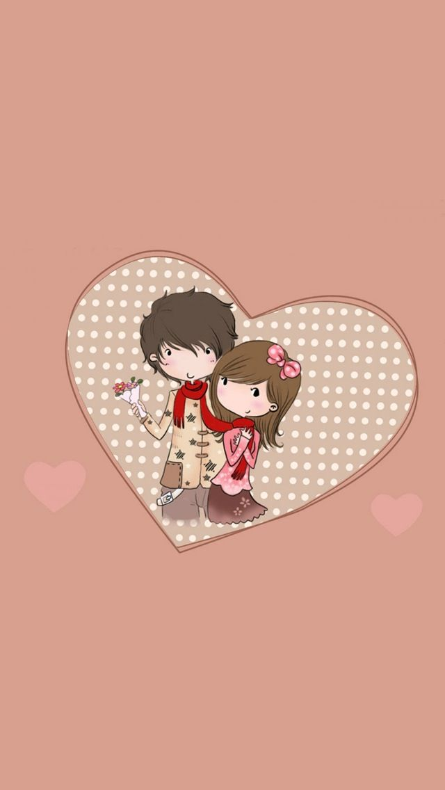 Cute Couple IPhone 5 Wallpaper