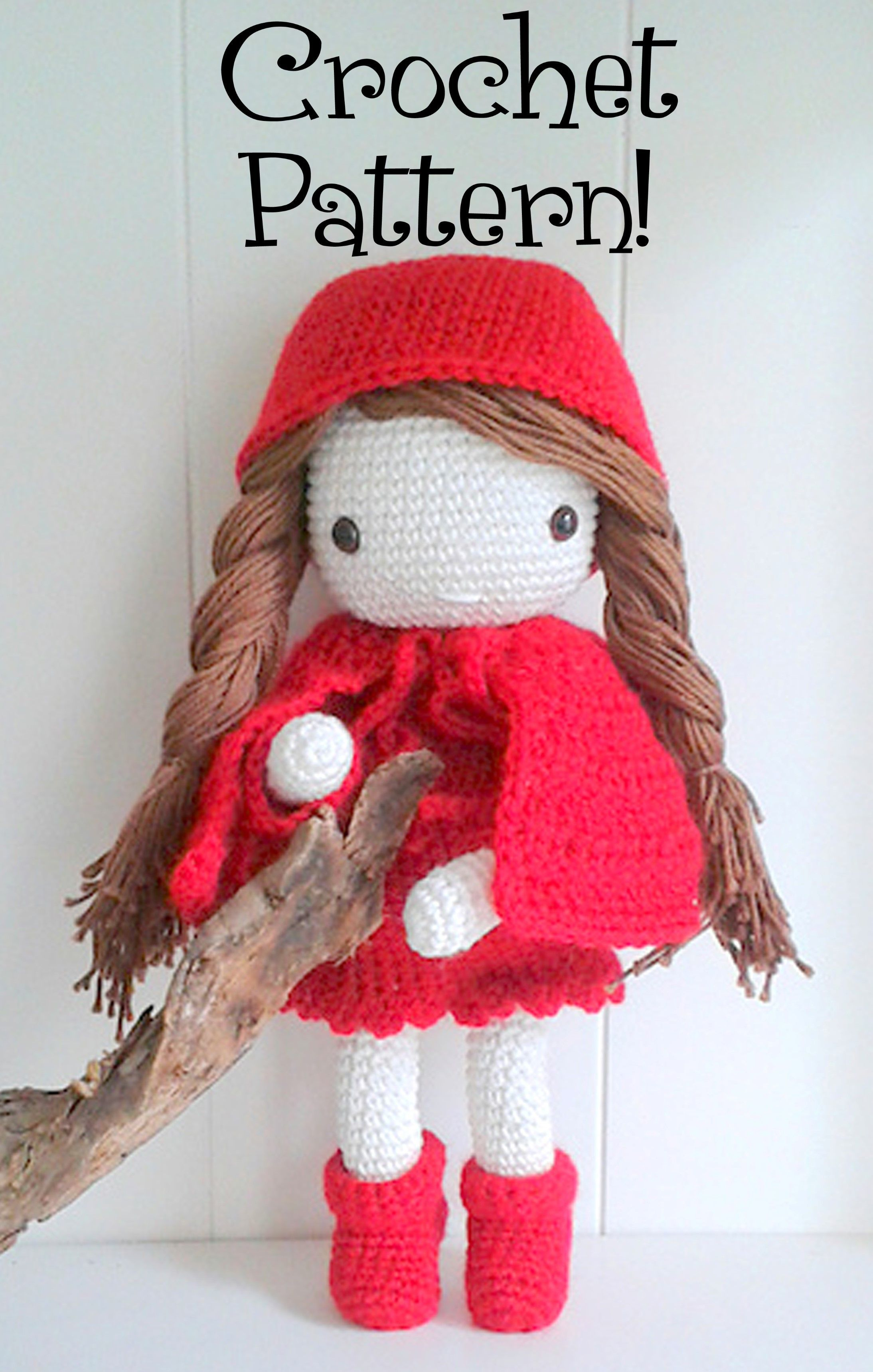My Crochet Doll: A fabulous crochet doll pattern with over 50 cute ... | 3437x2188