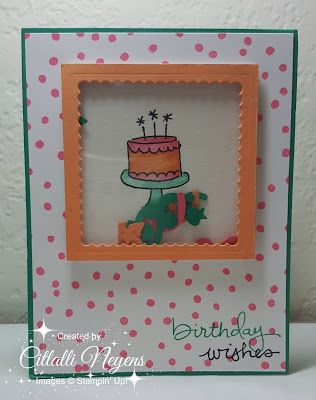 Creations with Citlalli: Birthday Shaker Card