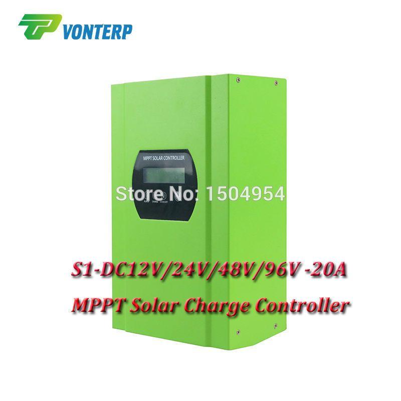 auto battery charge controller regulators for 12V 24V 48V 96V system MPPT controller