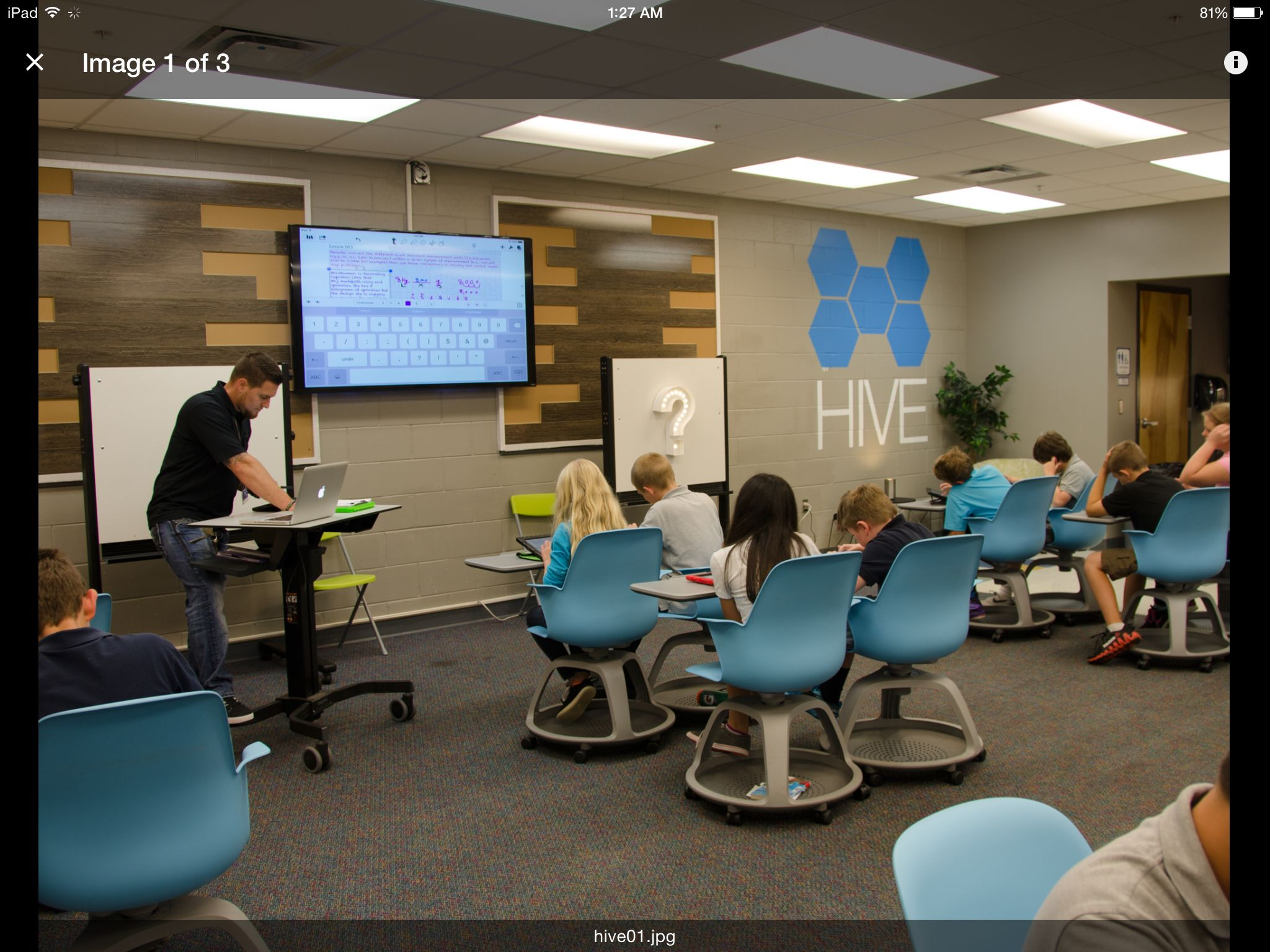 Hive Active Learning Classroom In Flagler Schools