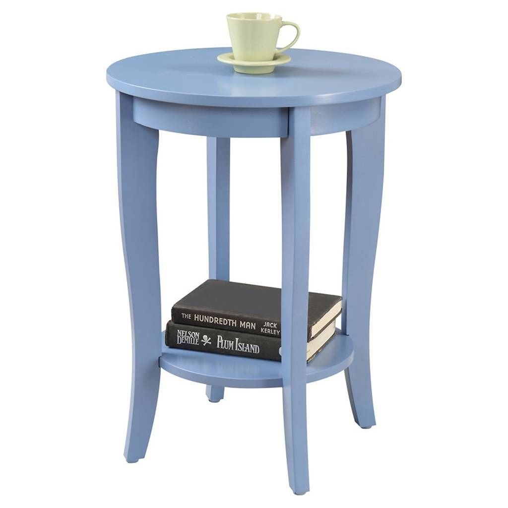 American Heritage Round End Table - Convenience Concepts. Image 1 of 3.