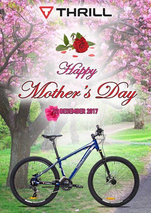 Selamat Hari Ibu untuk Semua Ibu Hebat di Seluruh Indonesia.. Tetap sehat dan bahagia yaaa ^^  #builtforthethrill #bicyclehobbies.com  #bikeaccessories  #cycleisfun  #cycleforlife