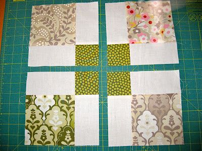 Moda Hunky Dory charm pack quilt using disappearing 9 patch quilt blocks tutorial | Sewn Up by TeresaDownUnder