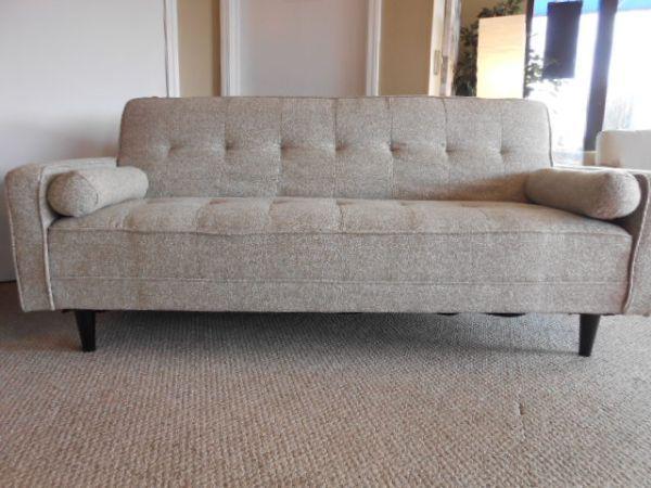 Grey Modern Chenille Futon Sofa Brand Picture Found On Craigslist