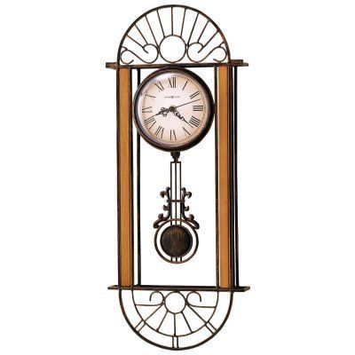 Howard Miller Devahn Wall Clock - 9.5 in. Wide - 625241