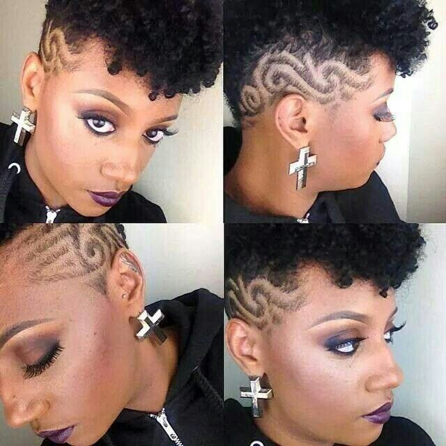 Tapered Cut With Designs Shorthairdontcare Shaved Hair Designs