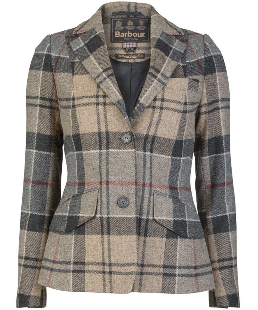 Women S Barbour Dee Tailored Jacket Winter Tartan