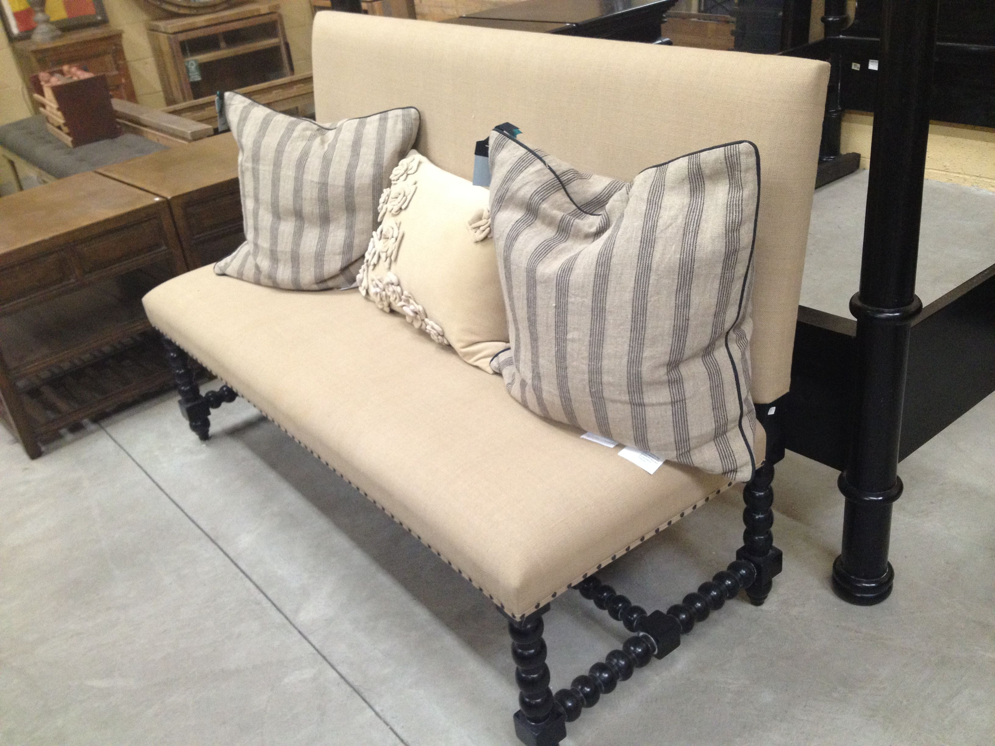 Dining Table Bench A Small Armless Sofa Would Make A