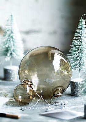 Stockholm Vitt - Interior Design: Scandinavian style Christmas Decorations