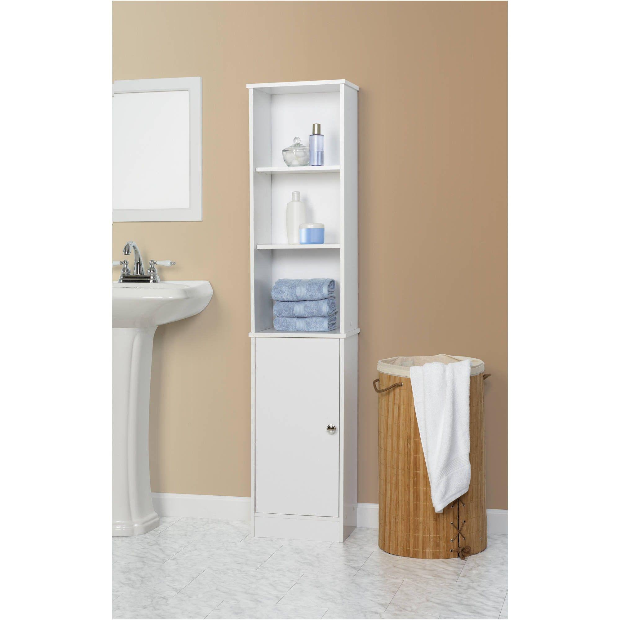 walmart bathroom cabinets bathroom cabinets from Space Saver ...