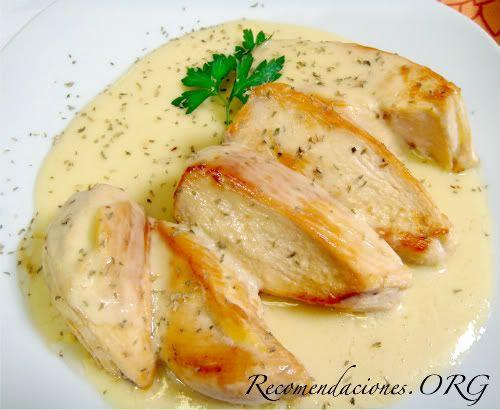 Recetas de pechuga asada de pollo Fciles