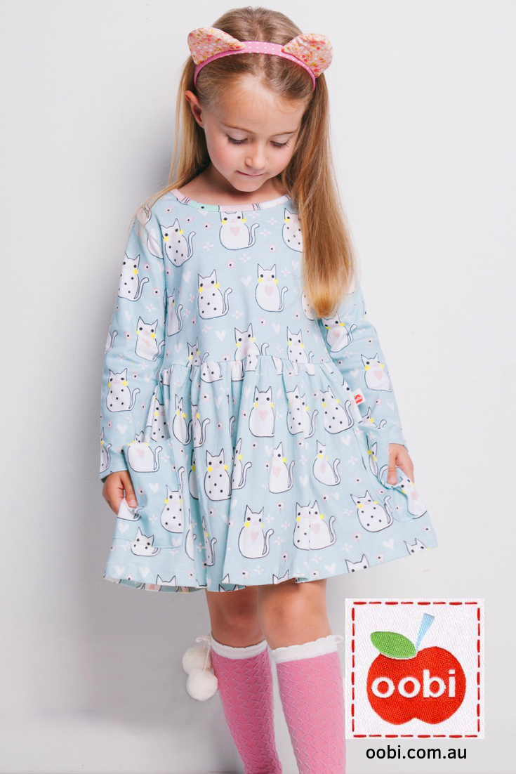 f068a810cc24 Mia Aqua Kitty Dress