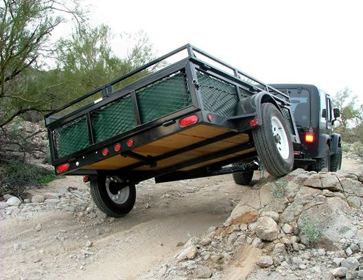 Jumping Jack Tent And Utility Trailers Glamping Pinterest