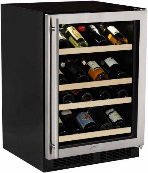 Kalamera 15 In Built In 30 Bottle Single Zone Wine Cooler Compressor Krc 30szb In 2020 Built In Wine Cooler Built In Wine Refrigerator Wine Refrigerator