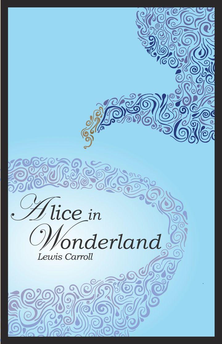 Alice In Wonderland Book Cover Ideas ~ Alice in wonderland book cover by lisaharms alice in wonderland