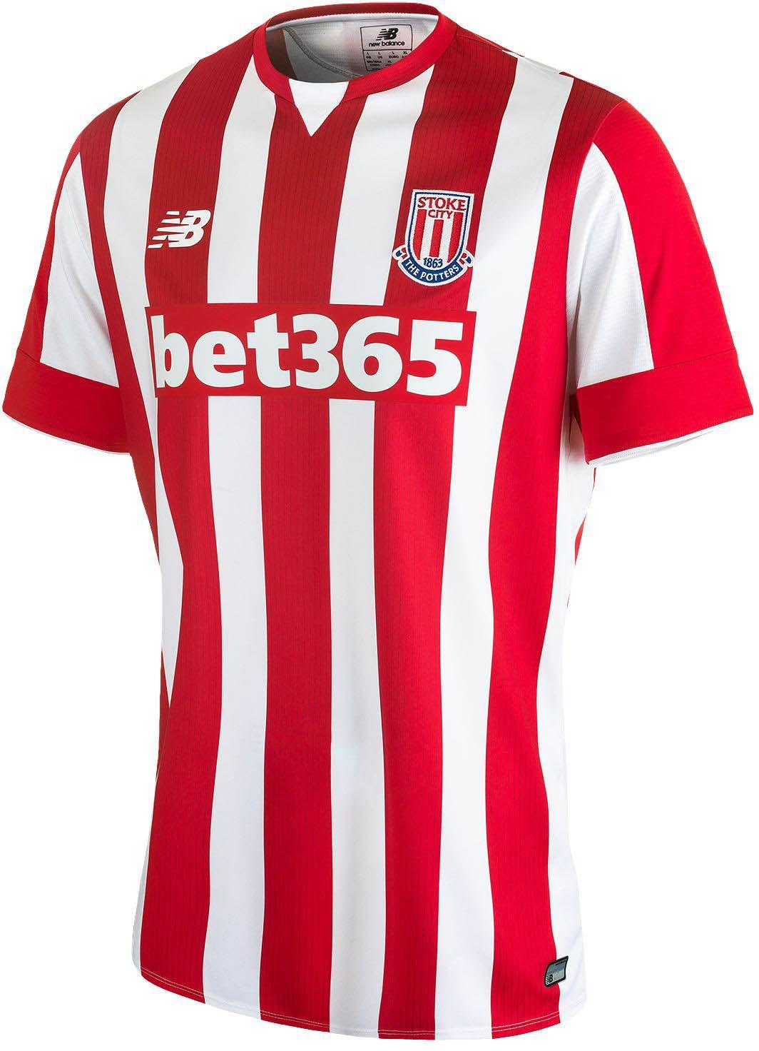 Stoke City 15 16 New Balance Home Football Shirt  22f42e522
