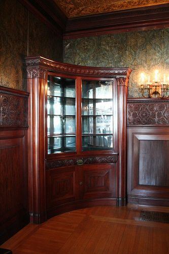 Mirrors Over Dining Room Buffet