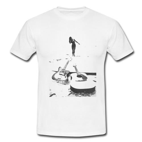 a9069685 Mens Surf T-shirt Retro Vintage Tee Boards Fender Guitar   S 18 ...